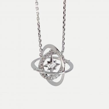 Princesse Pendant Diamond set