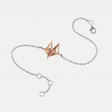 Bracelet Renard sur chaine