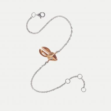 Bracelet Lievre sur chaine
