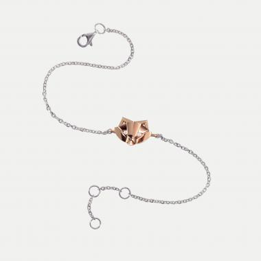 Bracelet Chat sur chaine