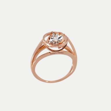 Princesse ring All gold