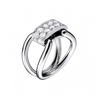 Bague PARIS207 Diamant  sur Or blanc Lien interchangeable