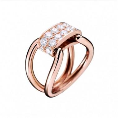 Bague PARIS207 Diamant Or rose Lien interchangeable