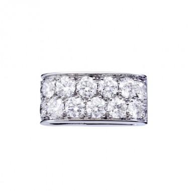 Lien PARIS207 Diamant sur Or blanc
