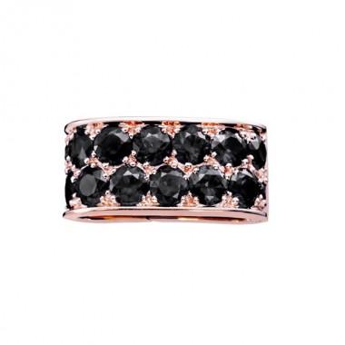 Lien PARIS207 Diamant noir sur Or rose